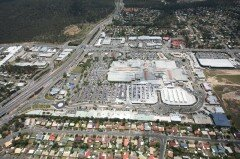 Grand Plaza Shopping Centre aerial view