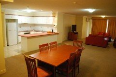 Three Bedroom Apartment - Kitchen, Dining & Lounge Room